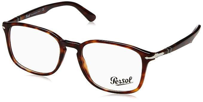 f2ea096778a48 Amazon.com  Persol PO3161V Eyeglasses Havana 54  Clothing