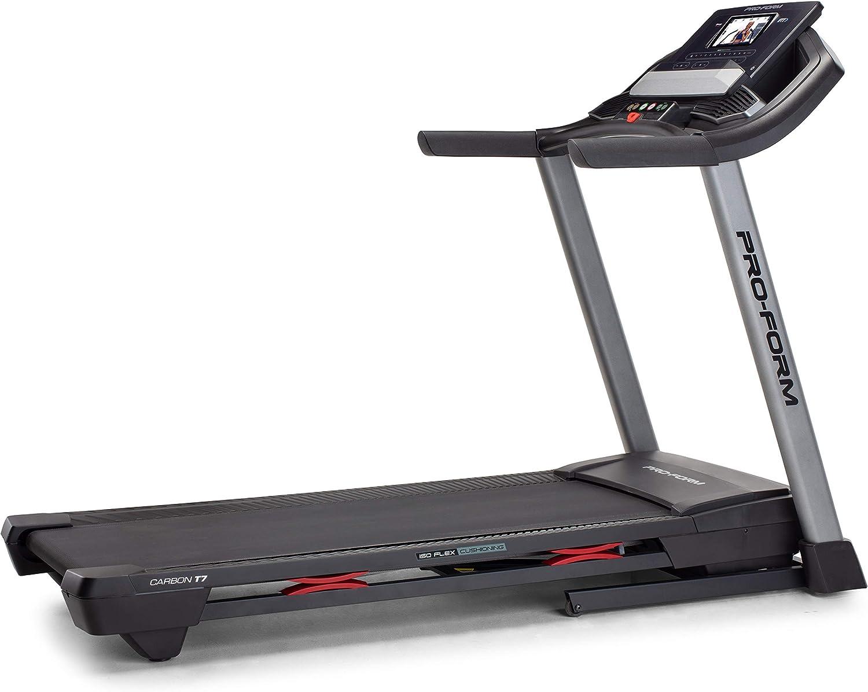 ProForm CarbonT7 Smart Treadmill, Black