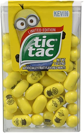 Amazon.com : Limited Edition Despicable Me Minions Tic Tac : Grocery ...