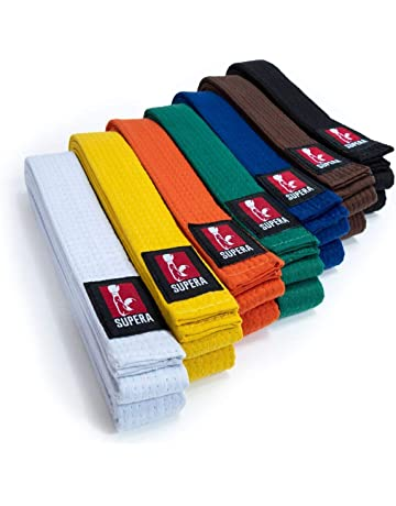 738c4093aba41 Supera Kampfsport Gürtel in verschieden Farben und Längen. Karate Gürtel  aus extra dickem Stoff.