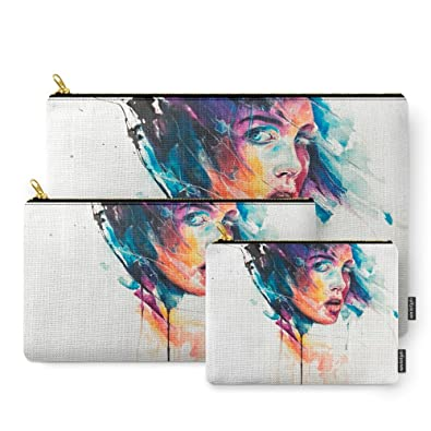 Amazon.com: Society6 Sheets Of Colored Glass Carry-All Pouch: agnes ...