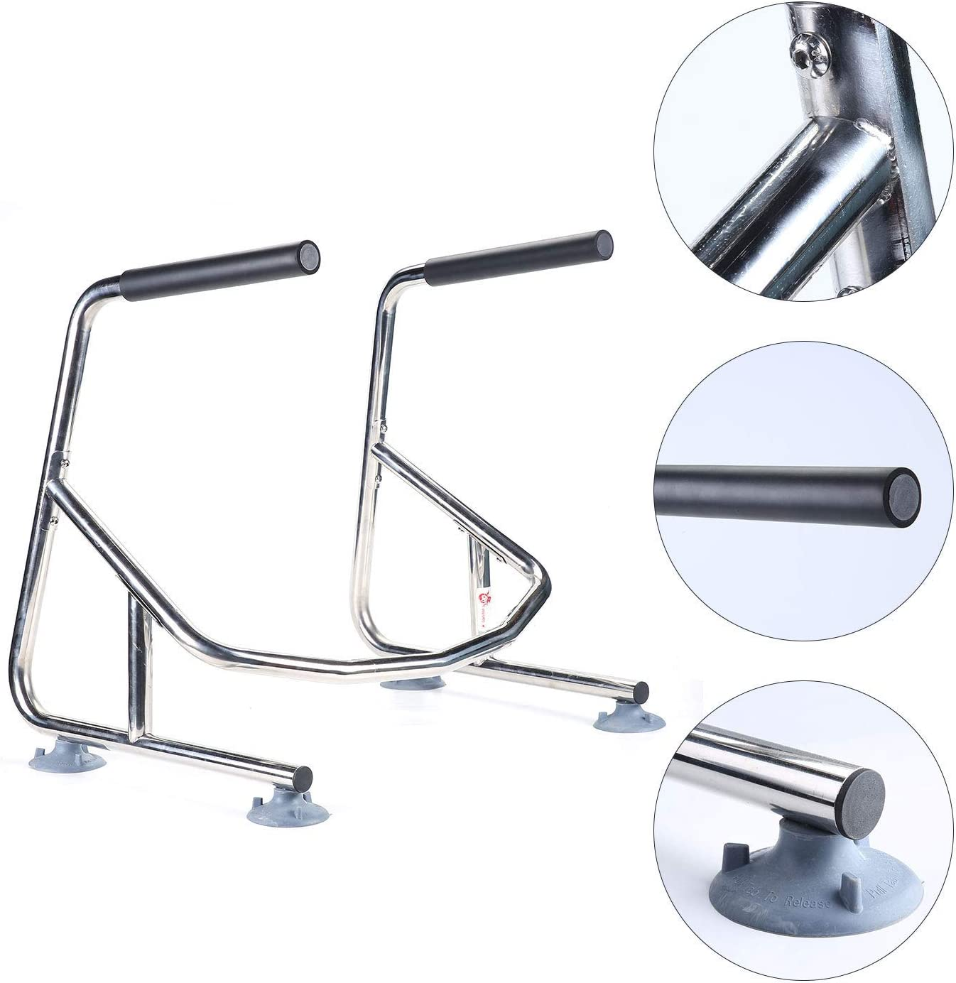 Elderly Assis Toilet Safety Rails Safety Frame Toilet with Easy Installation Bathroom Toilet Seat for Seniors Arthritis Sufferers Injured Surgery Recovery: Health & Personal Care