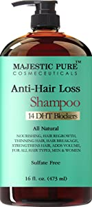 Majestic Pure Hair Loss and Hair Regrowth Shampoo