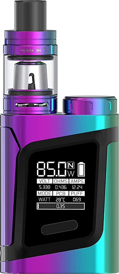 SMOK AL85 Alien Baby TC Kit de inicio de Cigarrillo Electrónico (A todo color) SMOK RHA 85 Sin Tabaco y Sin Nicotina
