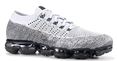 7f7b4f7f8b Image Unavailable. Image not available for. Colour: BestVOR Air Vapormax  Flyknit Pure Platinum University Red Mens Running Shoes