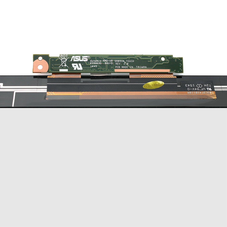LCDOLED 15 6''Touch Screen Digitizer Front Glass + Controlboard Replacement  for ASUS Q504 Q504U Q504UA Series Q504UA-BHI7T21 Q504UA-BBI5T12