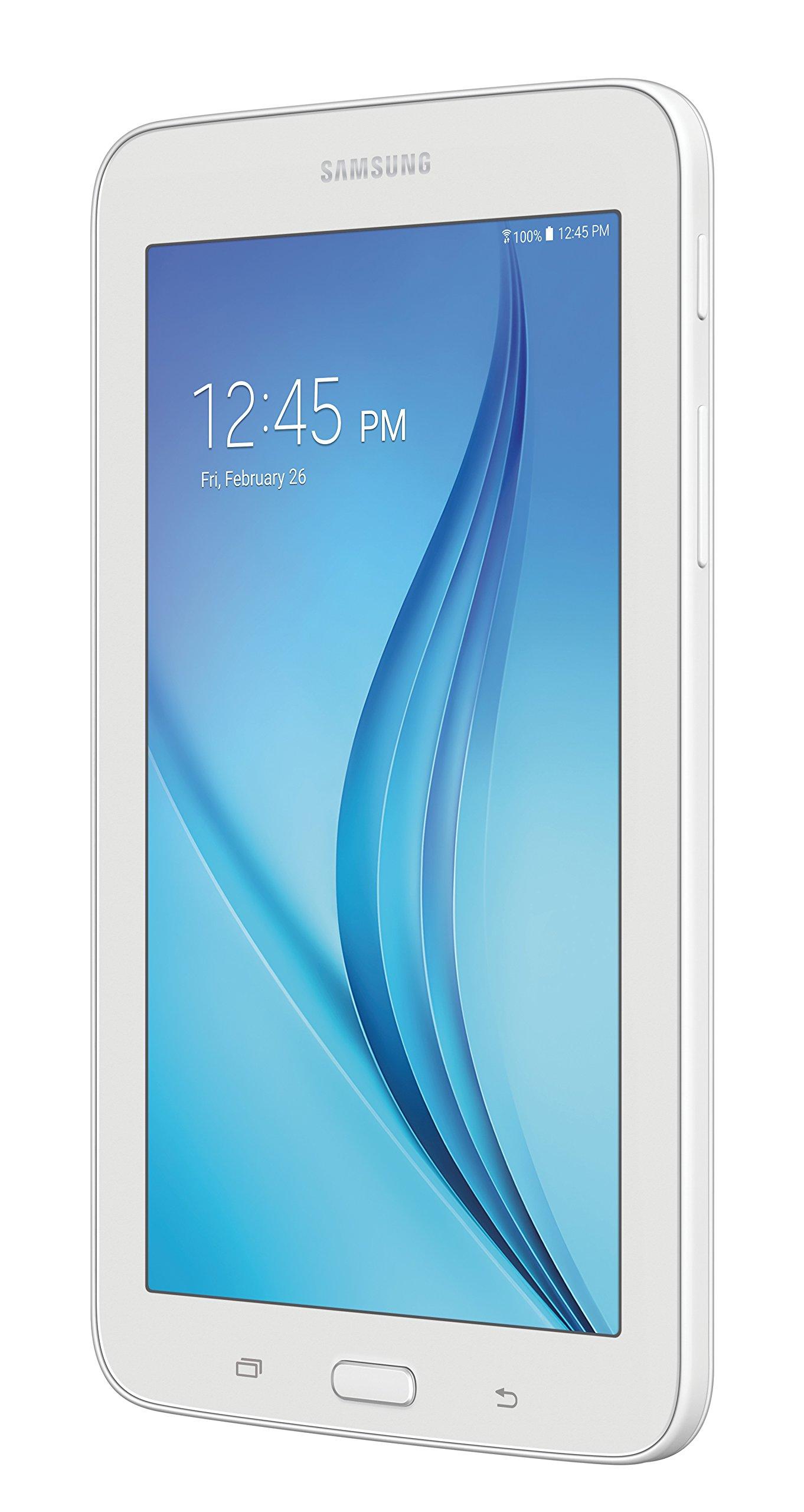 Samsung Galaxy Tab E Lite 7''; 8 GB Wifi Tablet (White) SM-T113NDWAXAR by Samsung (Image #3)