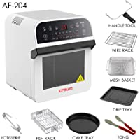 Crownline Hot Air Fryer with Oven, AF-204, White