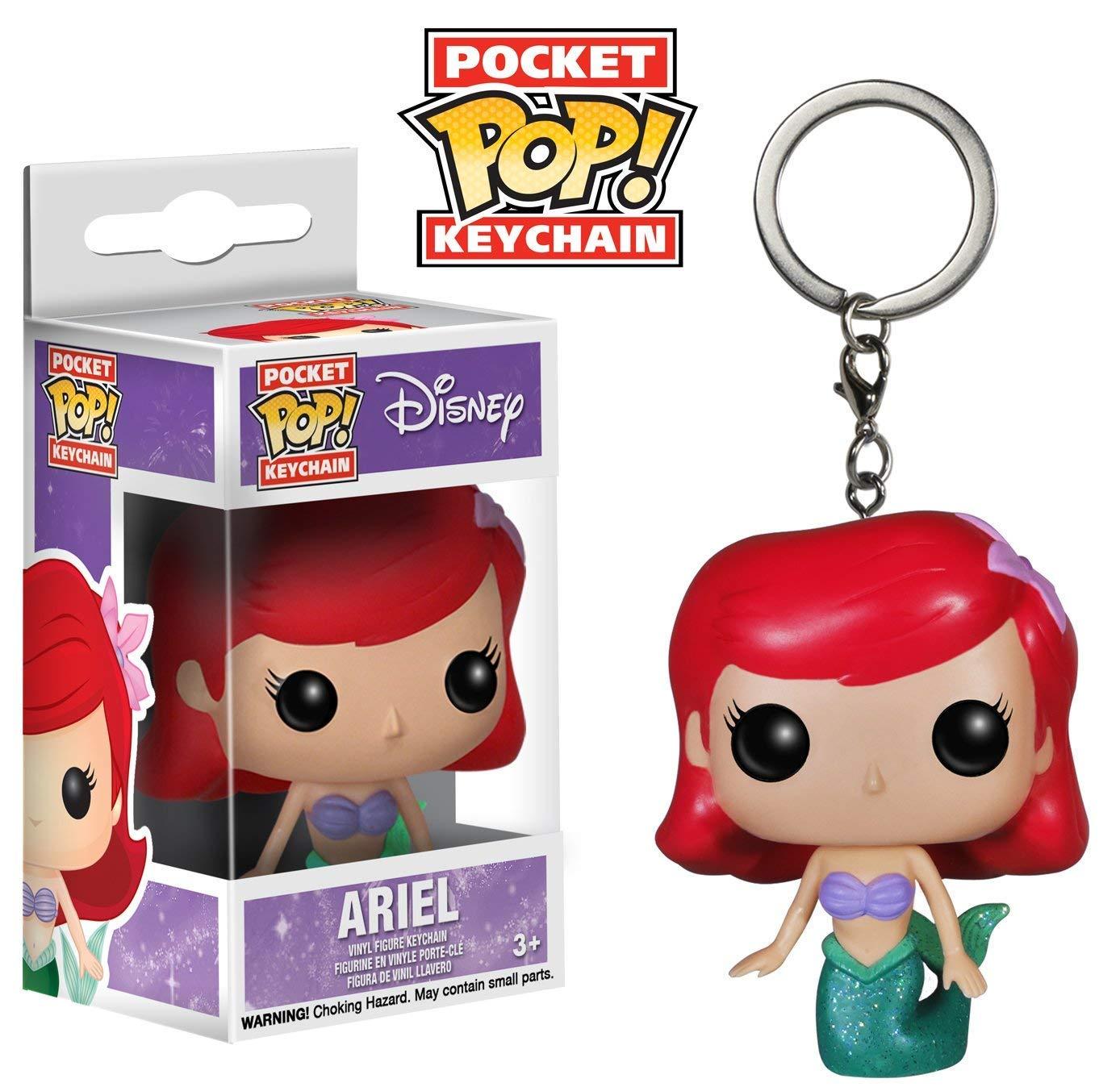 JPTACTICAL Ariel Bobble Head Action Figures Keychain Mini Figure