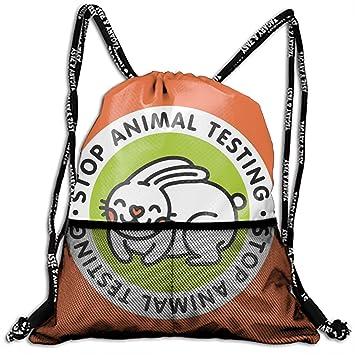 Amazon.com: Mochila con cordón y dos tipos, mochila con ...
