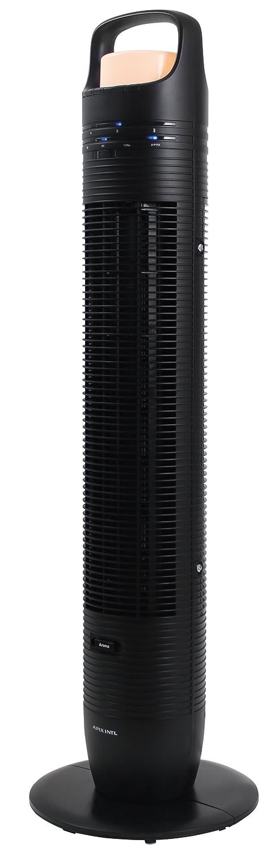 APIX タワーファン(LEDライト搭載) リモコン付き アロマ対応 ブラック AFT-846R-BK B01D99RKX8