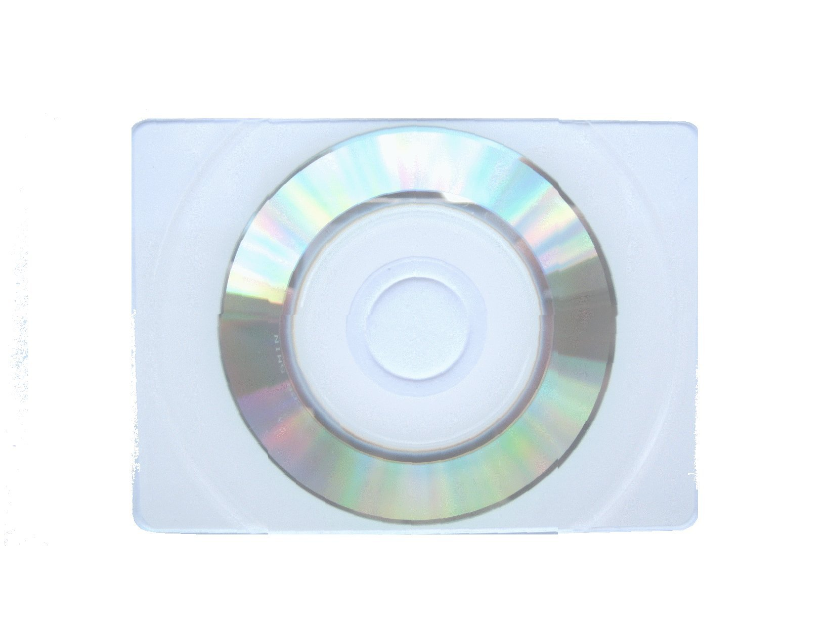 1000 True Retangular Business Card CD-R, WHITE INKJET Top, JS404 PLUS SLEEVE