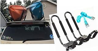 Mrhardware Kayak Roof Rack for SUV Car Top Roof Mount Carrier J Cross Bar Canoe Boat
