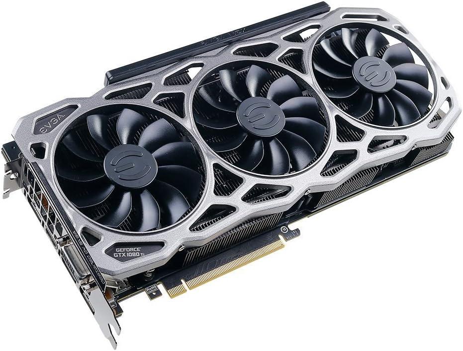 EVGA GeForce GTX 1080 Ti FTW3 Gaming, 11GB GDDR5X, iCX Technology - 9 Thermal Sensors & RGB LED G/P/M, 3X Async Fan Control, Optimized Airflow Design ...
