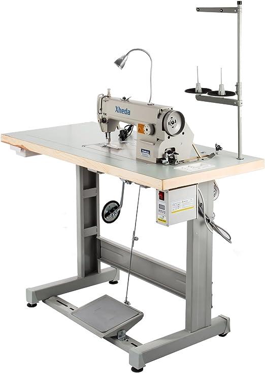 VEVOR DDL8700 máquina de coser industrial con motor Servo + ...