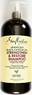 product image for Shea Moisture Jamaican Black Castor Oil | Strengthen & Restore Shampoo Shea Butter, Peppermint and Apple Cider Vinegar Sulfate Free and Color Safe - 33.8 oz