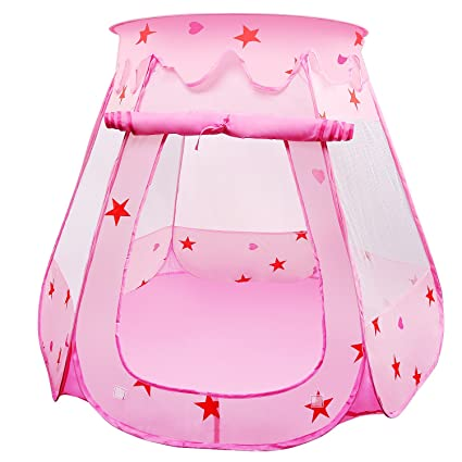 BelleStyle Tienda de Juegos para Niños, Pop Up Princesa Piscina de ...