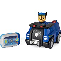 Paw Patrol 6054190 Chase Remote Control Police Cruiser with 2-Way Steering, for Kids Aged 3 and Up (2019)