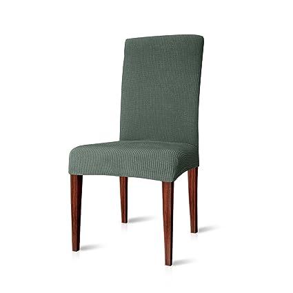 Amazoncom Chun Yi Dining Chair Covers Stretch Jacquard Polyester