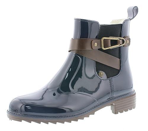 blockabsatz P8161 halbstiefel hoch 5cm Rieker stiefelette Chelsea Stiefel 3 Boots Damen bootie schlupfstiefel frauen 2EHWDI9Y