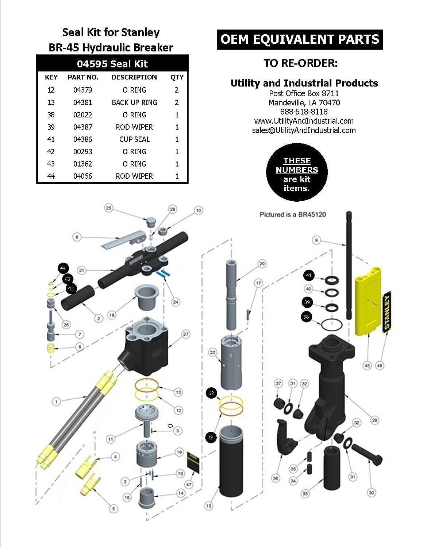 Stanley 04595 Seal Kit: Amazon ca: Tools & Home Improvement