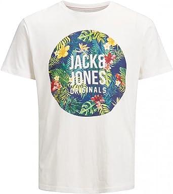 Jack & Jones Originals 12136561 - Camiseta para hombre, diseño de círculos, algodón: Amazon.es: Ropa y accesorios