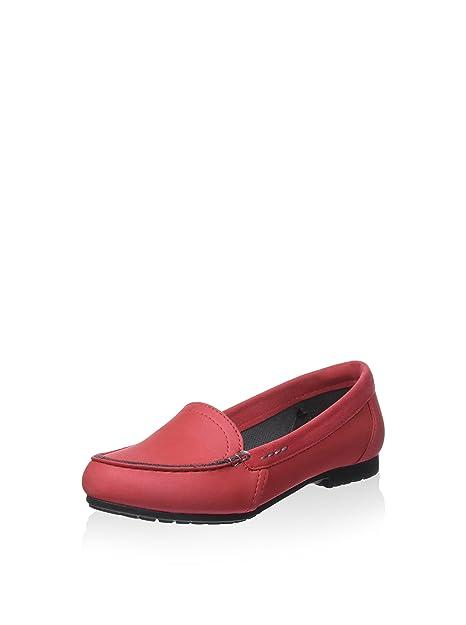 crocs - Mocasines de Sintético para Mujer Rojo Pepper and Black 36/37 EU: Amazon.es: Zapatos y complementos