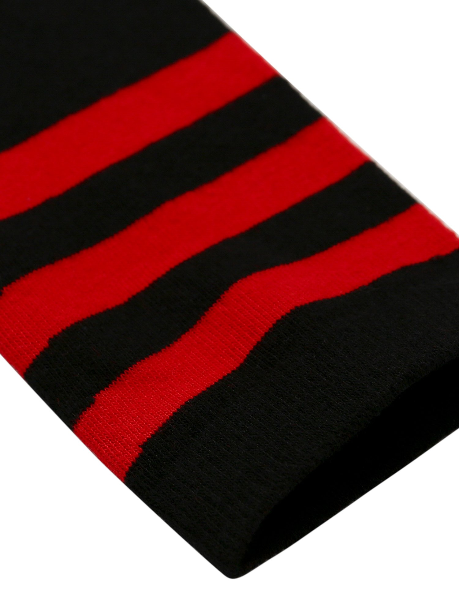 Joulli Women's Casual Stripe Knee High Socks, Black 3 Pairs, One Size by Joulli (Image #5)