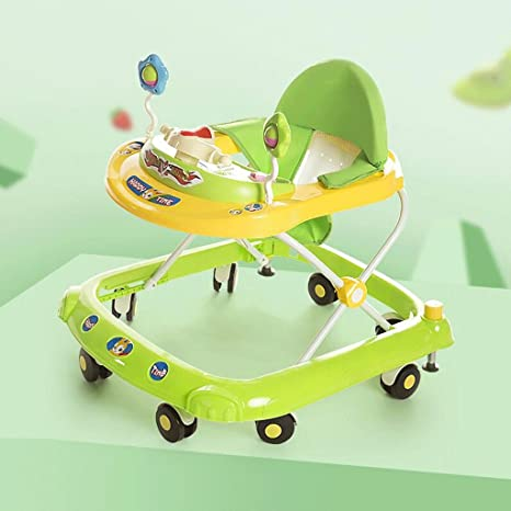 Baby Walkers Anti-rollover 6/7-18 Meses Bebé Con Freno Toy ...