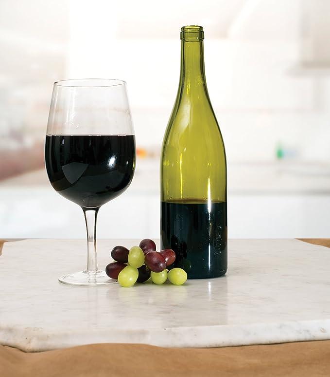 Unique Jumbo gigante vino vidrio - gran tamaño extra grande ...