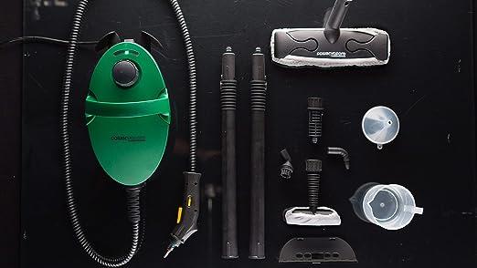 Vaporeta Limpiadora a vapor de alta eficiencia con 6 Funciones y ...