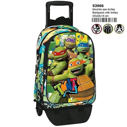 Tortugas ninja MC-53966 2018 Equipaje Infantil, 50 cm, 1 ...