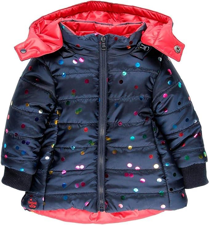 boboli Technical Fabric Parka for Girl Cappotto Bambina