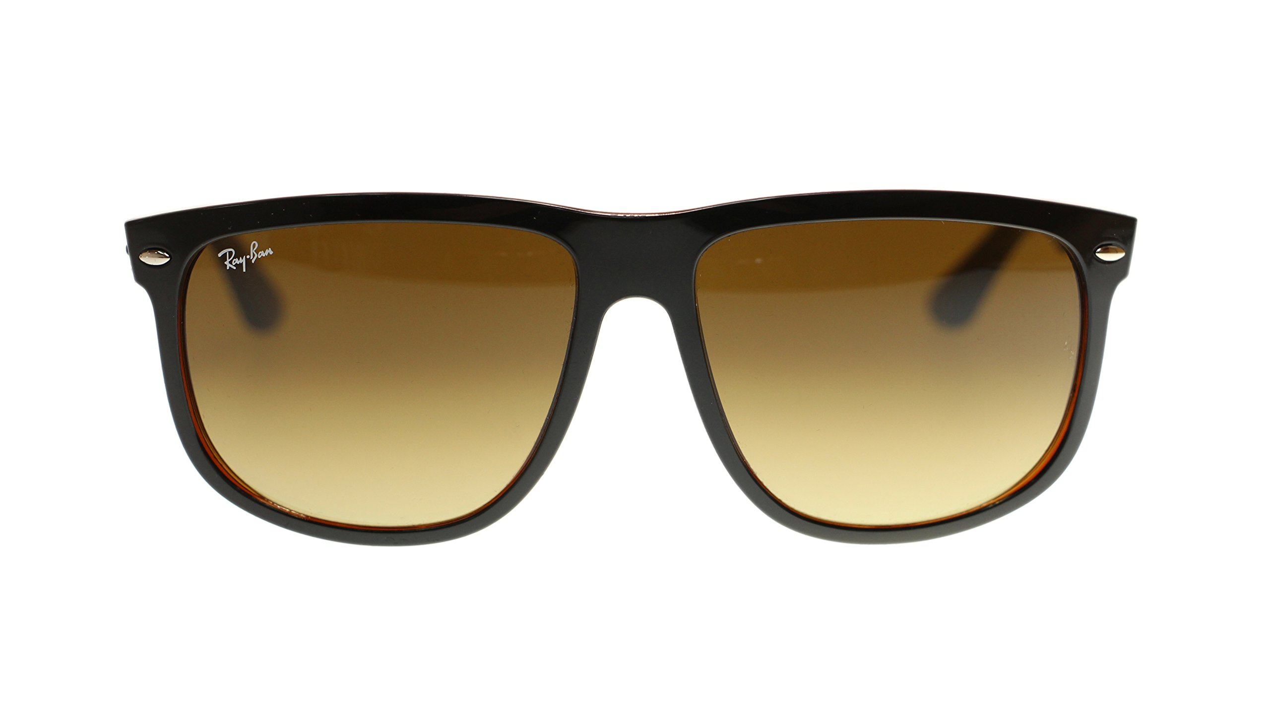 Ray Ban Sunglasses RB4147 609585 Top Black On Brown Square 60mm Authentic