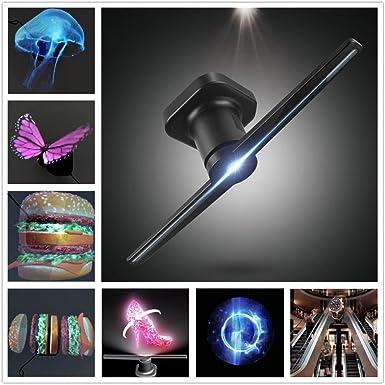 Amazon.com: DSstyles LED portátil holográfica Proyector ...