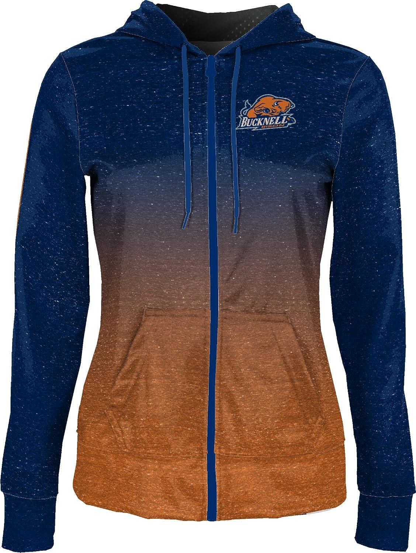 School Spirit Sweatshirt Heather ProSphere Bucknell University Girls Zipper Hoodie