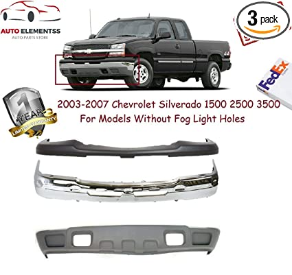 Front Bumper Face Bar For Chevy Pickup GM1002828 15836962