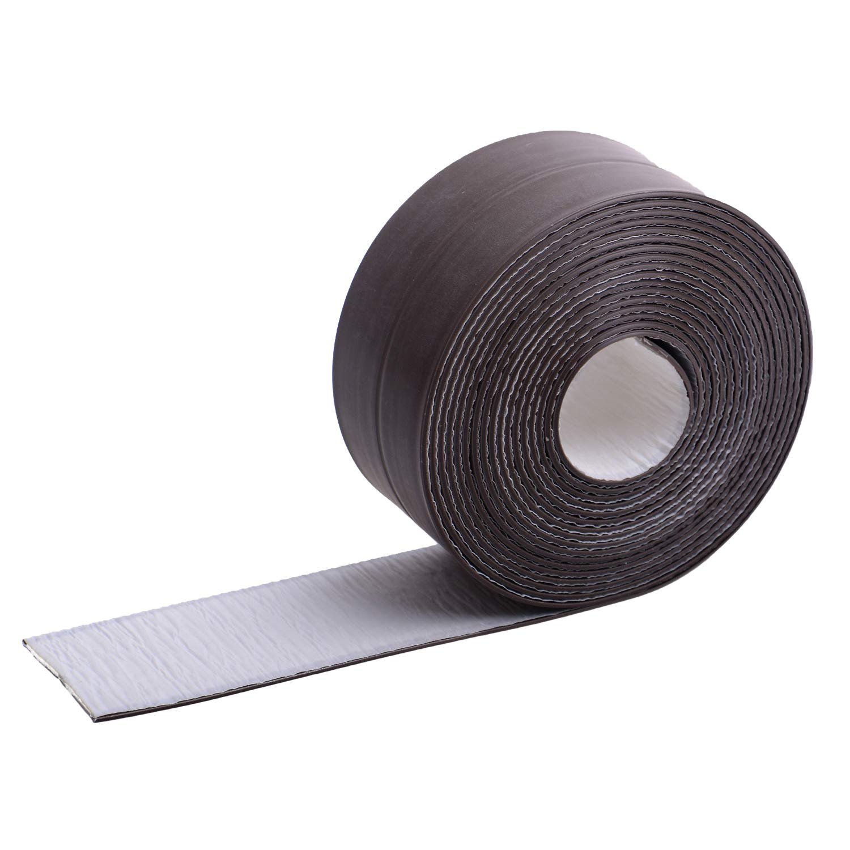 Bath Sealant Strip, Caulk Strip PE Self Adhesive Flexible Waterproof Shower Sealant Tape Ideal for Kitchen Bathroom Bathtub Toilet Floor Corner Wall Shower Tile Sealer (38mm x 3.35m, White) PICK FOR LIFE