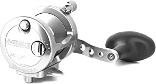 product image for Avet SX6/4MCRH-SI 2-Speed Reel, Silver, Right Hand
