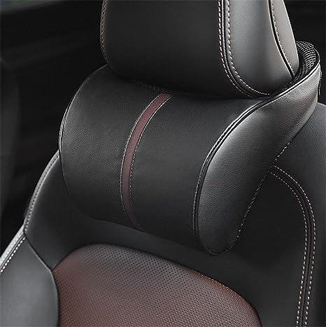 Amazon.com: Fochutech coche almohada cojín de asiento cabeza ...