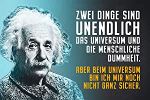 Schatzmix Einstein: Dos Cosas Son infinitas: el Universo y