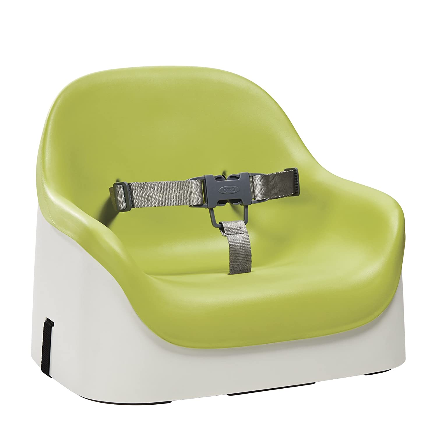 amazon com oxo tot nest booster seat with straps green baby