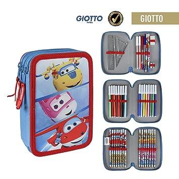 Amazon.com: Super Wings - Triple Compartment Pencil Case, 42 ...