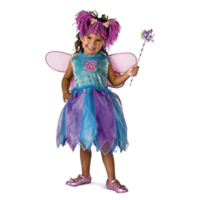 Disguise Baby Girl's Sesame Street Abby Cadabby Deluxe Costume: Clothing