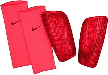 Enmarañarse total Disfraz  Nike Mercurial FlyLite Superlock 160-170 - Espinilleras de fútbol (talla  M), color rojo: Amazon.es: Deportes y aire libre