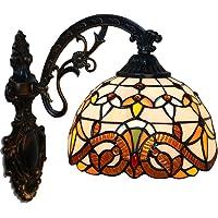 FABAKIRA Aplique Tiffany Lamp Vintage Mini Lámpara