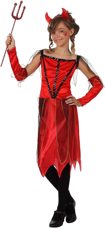 Atosa-10584 Atosa-10584-Disfraz Demonia para niña infantil-talla ...