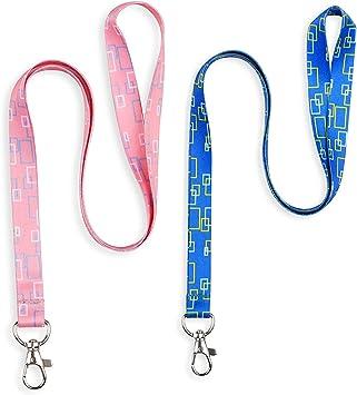 Schneespitze 2 Pcs Correa para el Cuello Lanyard Safety,Camuflaje Correa,Impreso Hermosa Correa para USB Badge Holder Tarjeta de identificación: Amazon.es: Electrónica