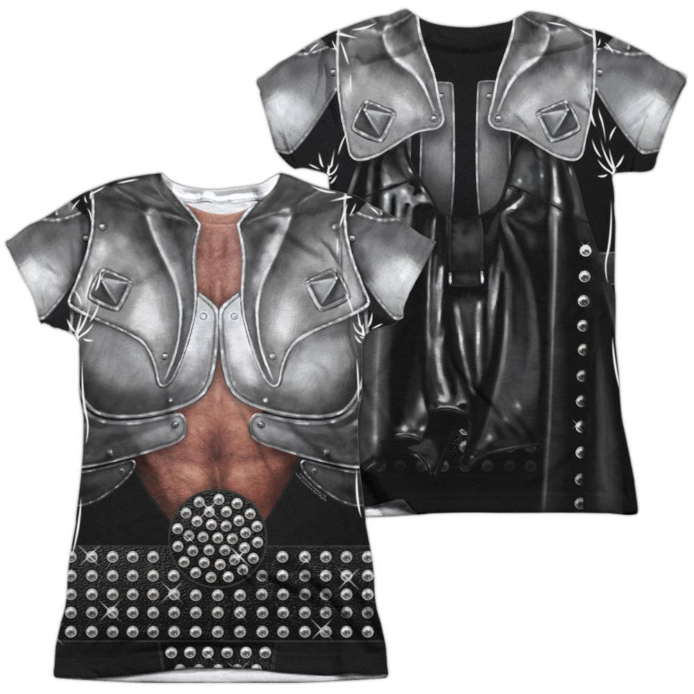 Kiss Demon Costume Women's Front Only Sublimated T Shirt