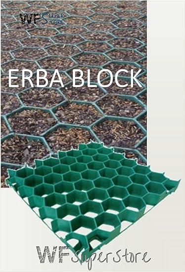 Grigliati In Plastica Per Giardino.Wueffe S R L Grigliato Salvaprato Salvaverde In Plastica Carrabile